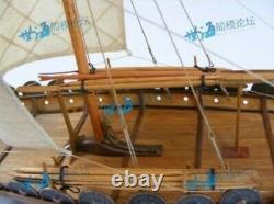 150 Wooden Viking Ship Sailing Boat Unassembled Model Building DIY Kit