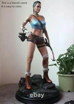 16 Lara Croft 33cm Resin Figure Miniature Model Kit Unassembled Unpainted