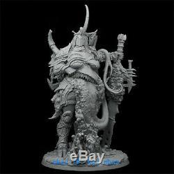 180mm Fantasy Monster Warrior Resin Figure Unpainted Unassembled Garage Kit