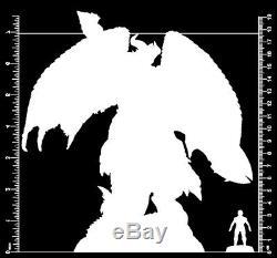 182mm Resin Figure Model Kit Ecstasy Monster Fighter unpainted unassembled BASE