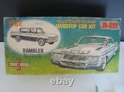 1/25 1962 RAMBLER CLASSIC VINTAGE JO-HAN UNASSEMBLED KIT L@@k