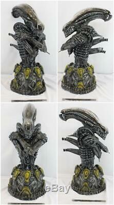 1/2 Alien Bust Resin Garage Model Kit Cast Hobby Unpainted Unassembled Xenomorp