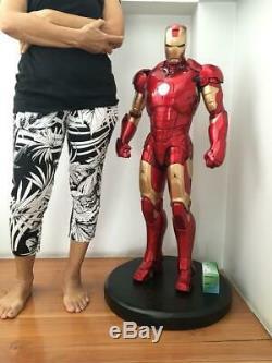 1/2 Iron Man MK3 Statue Resin Garage Model Kit Cast HobbyUnpainted Unassembled