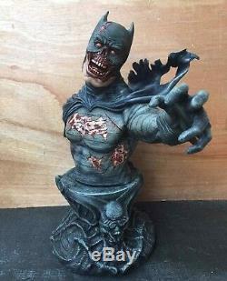 1/3 Batman Zombie Version Bust Figure Model Unpainted Unassembled Resin Kit 50CM