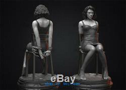1/4 Black Widow Scarlett Resin Figure Unpainted Resin Model Kits Unassembled