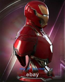 1/4 Iron Man MK50 Bust Resin Model Kits Unpainted 3D Printing Figure Unassembled