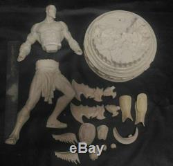 1/4 Kratos God of War Game Model Figure Unpainted Unassembled Good Resin Kit