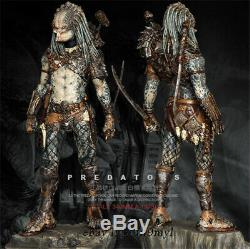 1/6 Predator Resin Model Kits Unpainted Figure Unassembled 35cm
