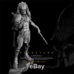 1/6 Predator Resin Model Kits Unpainted Figure Unassembled 42cm