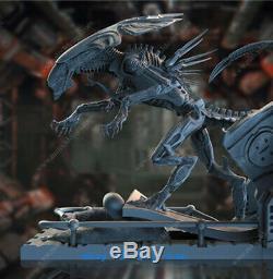 26cm ALIEN QUEEN Resin Model Kits Unpainted 3D Printing Unassembled Monster