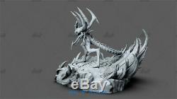 30cm Diablo Boss Resin Model Kits Unpainted 3D Printing Figure Unassembled