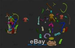 30cm Doctor Octopus Resin Model Kits Unpainted 3D Printing Figure Unassembled