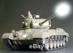 56016 Tamiya 1/16 R/C US Army M26 PERSHING Tank Full-Option Unassembled Kit