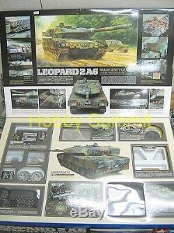 56020 Tamiya LEOPARD 2A6 1/16 German R/C F-O Modern Tank Unassembled Kit