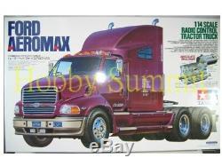 56309 Tamiya 1/14 R/C FORD AEROMAX Tractor Truck Unassembled Model Kit