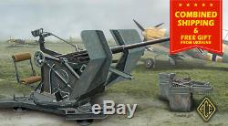 ACE 48102 1/48 2cm Flak 30 with trailer German Flak 30 anti aircraft WWII