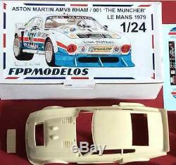 ASTON MARTIN RHAM V8 le mans 1979 The Muncher FPPM 1/24 unassembled model kit