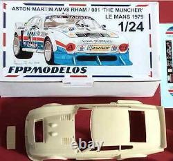 ASTON MARTIN RHAM V8 le mans 1979 The Muncher FPPM 1/24 unassembled model kit