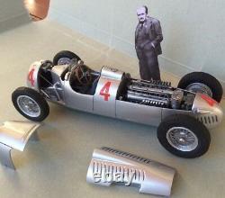 AUTO UNION C 1936/7 Vanderbilt or German GP win 1/24 unassembled model kit FPPM