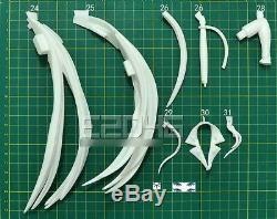 Akame ga KILL! Esdese Unpainted Model Kits Unassembled Garage Kit Figurine 1/6