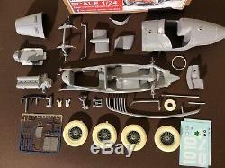 Alfa Romeo P2 Campari 1924 French gp winner FPPM 1/24th unassembled model kit
