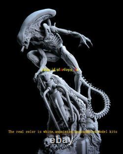 Alien 40cm H Unpainted Model Kit 3D Printing Unassembled Garage Kit GK Statue