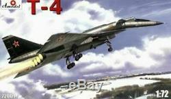 Amodel 72001 1/72 T-4 (Sotka) Soviet Supersonic Strategic Bomber