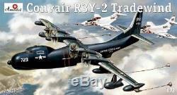 Amodel 72037 1/72 Convair R3Y-2 Tradewind Aircraft, scale plastic model kit