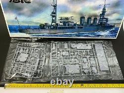 Aoshima KINU 1/350 Kit Japanese Navy Light Cruiser with Edging parts Unassembled