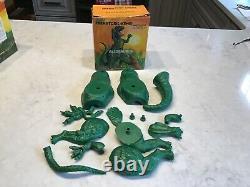 Aurora 1971 Prehistoric Scenes Allosaurus Unassembled In Original Box