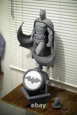 BATMAN 3D PRINTED 1/6 Unpainted/Unassembled Garage Kit 12in/30cm