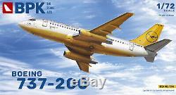 BPK 7206 1/72 Aircraft Boeing 737-200 Lufthansa Plastic Model Kit