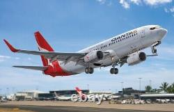 BPK 7218 1/72 Airplane Boeing 737-800 airlines Qantas Plastic Model Aircraft