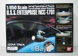 Bandai Star Trek U. S. S. Enterprise NCC-1701 1/850 Scale Unassembled Model Kit