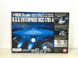Bandai Star Trek U. S. S. Enterprise NCC-1701-A 1/850 Scale Unassembled Model Kit