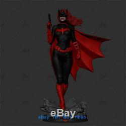 Batgirl Resin Model Kits Unpainted 3D Printing Figure Unassembled 30cm