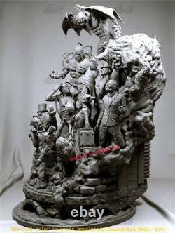 Batman Family Unpainted 30cm Model Kit 3D Printing Unassembled GK Garage Kit New