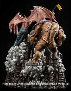 Batman With Villain Figure 3D Print Model Kit Unpainted Unassembled 30cm GK