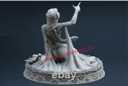 Beauty Girl Unpainted 15cm H Model Kit Unassembled 3D Print Garage Kit GK Statue