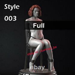 Black Widow 1/6 Scale 24CM Unpainted Model Kit Unassembled Statue Kit 3D Print