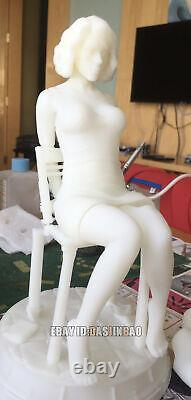 Black Widow Unpainted 1/6 Figure 3D Print Model Unassembled GK H24cm/9.4inch