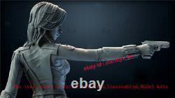 Black Widow Unpainted 30CM H Model Kit Unassembled 3D Printing GK Garage Kit New