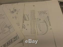 C. MAMOLI 164 scale H. M. S. BEAGLE Wooden Kit. UNASSEMBLED