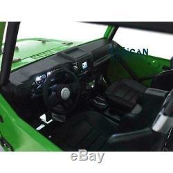 Capo 1/8 JKMAX Metal Chassis RC Crawler Car Painted Green Unassembled Model KIT