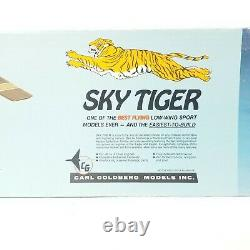 Carl Goldberg Models Sky Tiger RC Model Airplane Kit #64 Complete Unassembled