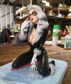 Catwoman 35cmH 14 Unpainted Model Kit Unassembled 3D Print Garage Kit Statue GK