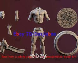 Colossus X-Men 1/6 Figure 3D Printing Model Kit Unpainted Unassembled 36cm GK