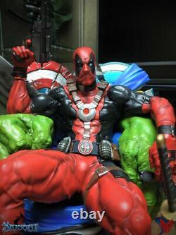 DEADPOOL Kills the Marvel Universe 3D PRINTED Unpainted/Unassembled 8in/20cm