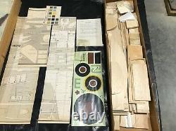 Dave Platt Models WWII British Spitfire, unassembled kit, 65 wing span
