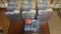 DeAGOSTINI Battleship Yamato made 90volumes shrinking unopened unassembled